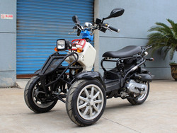 2015 49CC Hotsale New model Three Wheels Motorcycle/Trike With EEC Certification