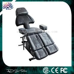 Black Adjustable Spa Facial Tattoo Massage Bed Chair Beauty Equipment Salon