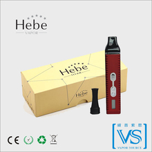 Nice quality and adjustable heating temperature, luxury vape pen design Hebe vapor, titan2 products