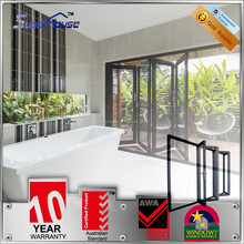superhouse 10years warranty AS2047 standard room folding door/bi folding door