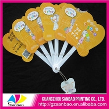 High Quality Colourful Logo Customized Promotional Foldable Fan For Advertising