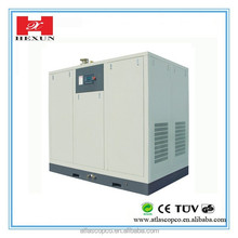 SFC18.5D 18.5KW/25HP 8 bar stationary air cooled screw small silent oil free air compressor