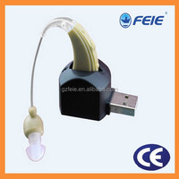 most popular retail items guangzhou medical instruments Rechargeable BTE hearing aids S-109
