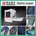 gravação a laser Jeans máquina de acabamento