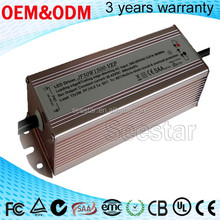power supply 1500ma OCP,OLP waterproof lead edge & trailling edge dimming led driver with 3 years warrenty