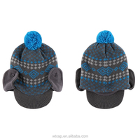 2015 Hot Sale Winter Pretty Kid Cap And Children Hat Wholesale