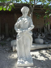 Carved Stone Figure Sculpture,Plaster Statues