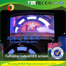 outdoor indoor ce rohs p8 glass led screen display