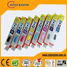 cli-42 ink cartridge/ for canon CLI 42 ink cartridge/ Compatible canon PIXMA PRO-100 printer