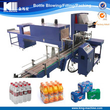 Automatic Beverage Bottle Shrink Wrapping Machine / Packing equipment