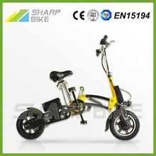 12 inch 36v 250w light weight folding aluminum road electric motorcycle supplier