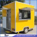 Hermoso diseño exterior quiosco de comida / comida rápida remolque / restaurante móvil remolque
