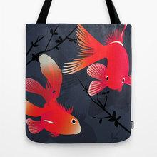 Digital printing and dyeing pattern canvas material fashion handbag shoulder bag