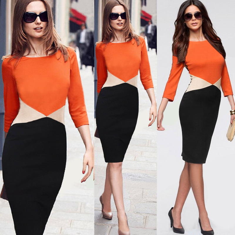 Ladies Office Wear Dresses Dress Formal Office Dresses For Women