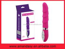 Pd018 10 el modo de color rosa púrpura de choque eléctrico vibrador, 10 velocidad del juguete vibrador sexual, la cena de energía vibrador del sexo