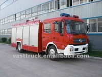 Dongfeng tianjing water tank fire fighting engine 6000L