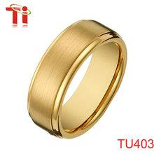 el anillo de tungsteno chino joyería moda anillos de oro