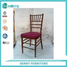 Home Furniture Dark Fruitwood Dining Chair With Cushion
