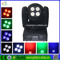 NEW Two Sides 8pcs 8W 4-in-1 RGBW Mini LED Moving Head manual for sexy girl club