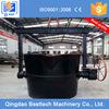 0.3-3 tons liquid steel pouring ladle, cast iron ladle, lip pouring ladle