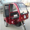 battery powered three wheel e rickshaw e tricycle for Asia passengers