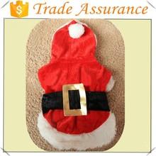 2014 hot selling NEW Dog Christmas Costume/santa costume for dogs/custom design christmas pet costume,