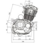 High Quality Motorbike Engine