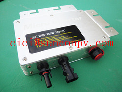 High quality solar panel micro inverter 250W with 24h monitoring software function