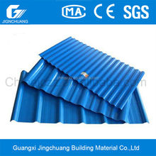 upvc soundproof corrugated plastic roof material