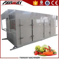 Industrial steam heating hot air fruits and vegetables dehydration machines