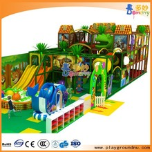 Funny jungle theme kids indoor soft play indoor playground equipment indoor play gym