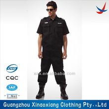 diseño personalizado de seguridad uniforme de guardia