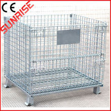 foldable galvanized Folding Pet Crate Kennel Wire Cage For Dogs\/cats O