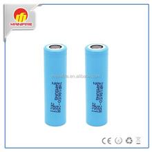 High drain IMR18650 batteries mxjo 35a 25R batteres 18650, LGHE4 18650, LGHE2 18650 PK Mainifire 18650 60A