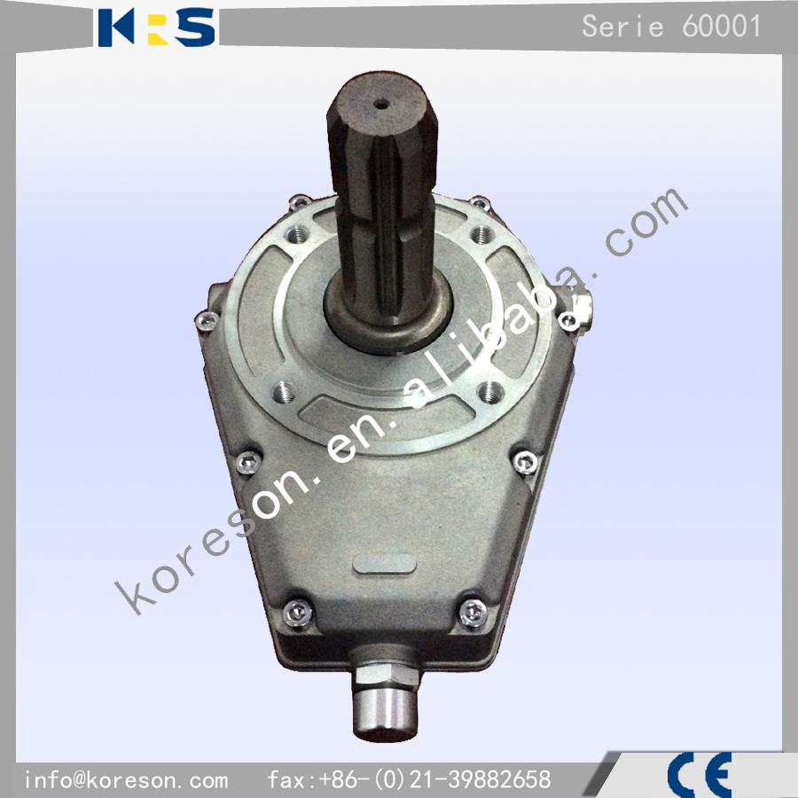 Group 2 type 60001 stepper motor gear box for gear pump for Stepper motor gear box