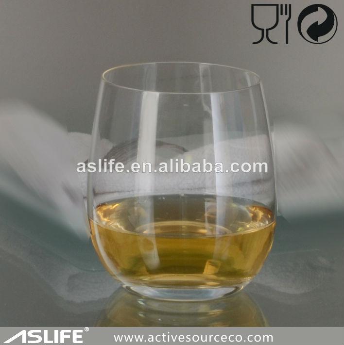 Vaso de cristal de whisky copa 360ml libre de plomo for Vasos copas vidrio