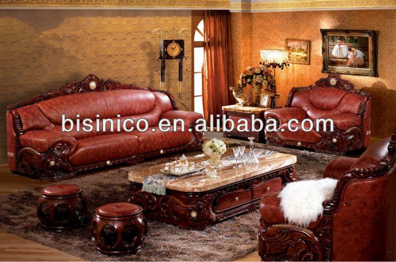 Southeast Asian Furniture Living Room Sofa Set Carved Wood