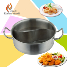 Hot sale new coming CE approve import commercial stainless steel cooking pot with sandwich bottom for hotel restaurant