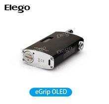 China wholesale elego eGrip OLED CS Joyetech Wood e-cigarette , original joyetech egrip new vision /egrip oled new 30w