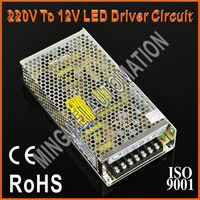 100W High Reliable Metal Case 220V To 12V LED Driver Circuit With CE RoHS