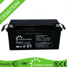 12V 150AH Valve Regulated Lead Acid High Rate Long Life UPS 12V Rechargeable Battery