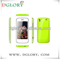 DG-A309W cheap 3.97 inch android smart phone ,Android4.2.2 800*480 3G dual sim card CE&ROHS
