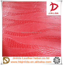 PVC leather Custom colors synthetic leather Cheap and fine