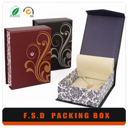 Fashion Paperboard Customize Luxury Gift Plastic Packaging Box