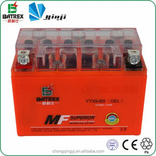 Vrla Battery 12v 9ah Gel Motorbike Battery For YTX9-BS