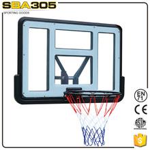 height adjustable ground basketball backboards