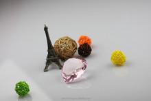 YIWU new product glass crystal 4 rows rhinestone chains trim
