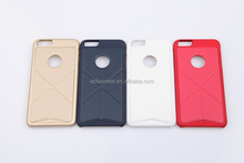 Aplus Transforme folding rubber coated stand function cases for iPhone6