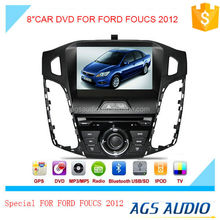 8 inch car dvd audio navigation system for FORD FOUCS 2012 with touch screen,wireless rearview camera
