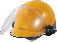 Injetado ABS PP Shell UV pintura PC de vidro animal de estimação Pad Cheek ajustável Chin Strap capacetes